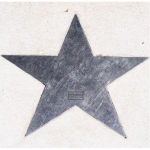 Sir Michael Caine's star on Church Street 2018
