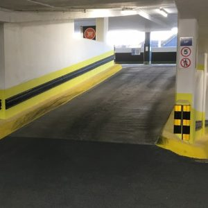 Improved ramp at the Swan Centre