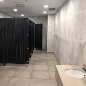New toilets in the Swan Centre 2019