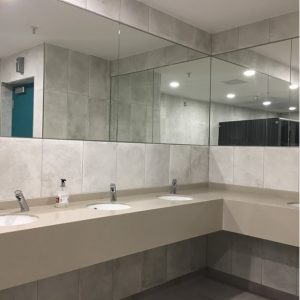New toilets in Swan Centre.