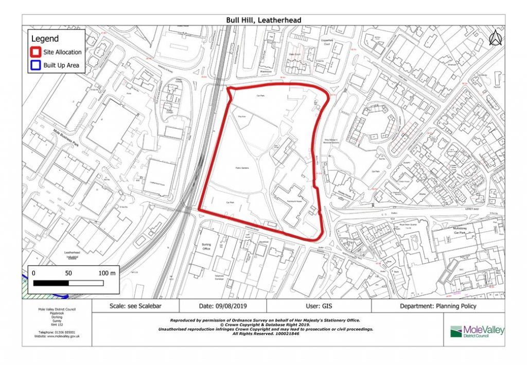 Bull Hill site allocation as detailed in the draft Local Plan 2020