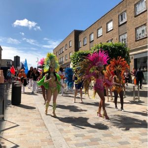 Church Street during the carnival 2019
