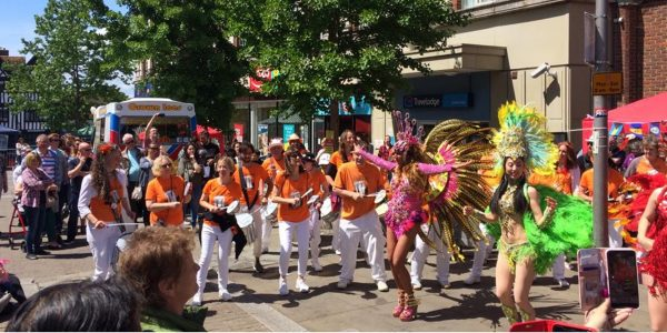 The first carnival in the High Street 2019