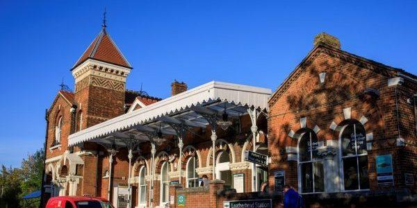 Photo of Leatherhead train station